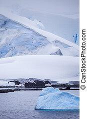 작다, 남극, 빙산