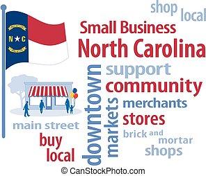작다, 캐롤라이나, 기, 북쪽, 사업