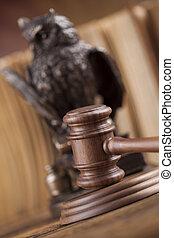 작은 망치, 주제, mallet, 의, 재판관