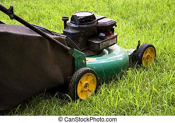 잔디 풀 베는 기계