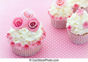 장미, 컵케이크