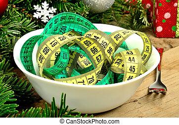 장식, 사발, 센티미터, 크리스마스