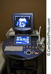 장치, 초음파, 내과의