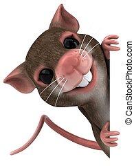 재미, 생쥐