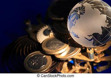재정, 우주기계론