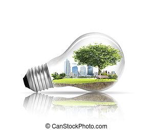 전구, 교체 에너지, 개념