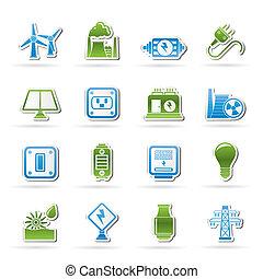 전기, 힘과 에너지, 아이콘