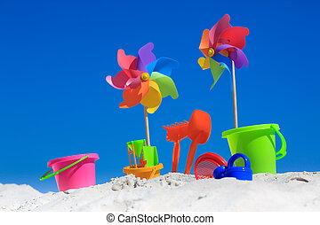 전통적인, 해변 장난감