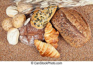 전통적인, bread