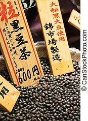 전통적인, japan., 시장