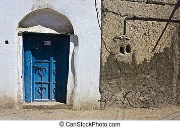 전형적인, omani, 비공개의, 집, 문