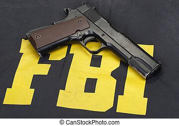 정부, 망아지, 제복, m1911, fbi, 권총