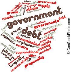 정부, 빚
