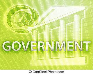 정부, 삽화