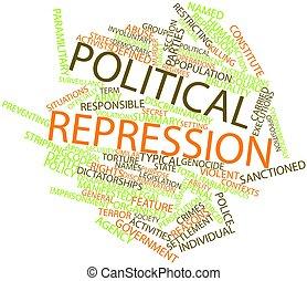 정치에 참여하는, 억제