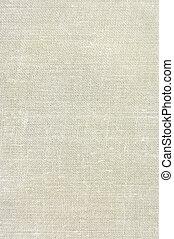 제자리표, 포도 수확, 아마포, 올이 굵은 삼베, 직물, 배경, 에서, 황갈색, 베이지색, 황색을 띠는,...