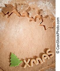 제작, 쿠키, 크리스마스