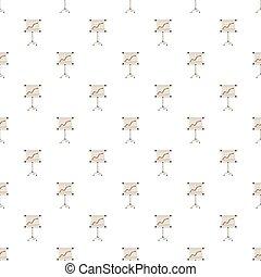 제출, 스크린, 와, 그래프, 패턴
