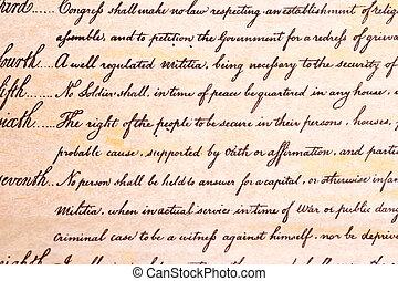 제 4, 개정, 미국 헌법, 검색, 와..., 발작