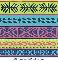 종족의, 패턴