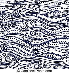 종족의, 포도 수확, 소수 민족의 사람, 패턴, seamless