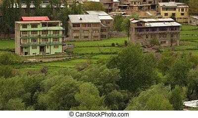 주거다, ladakh, kargil, 바람 빠진 타이어, 건물