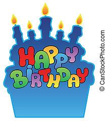 주제, 생일, 3, 행복하다