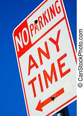 주차 금지 표시