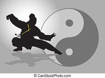 중국어, tai-chi.