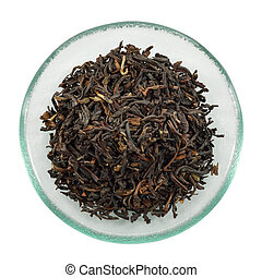 중국, 인도 사람, teas., 혼합, 검정