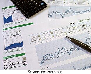 증권 거래소, 분석