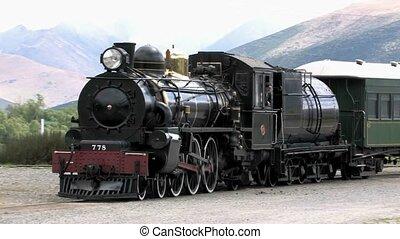 증기 기차, 에, fairlight, 역
