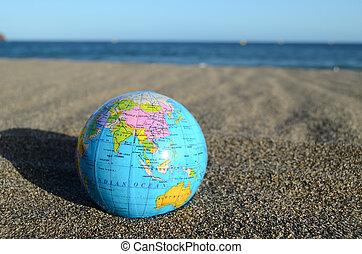 지구 지구, 바닷가