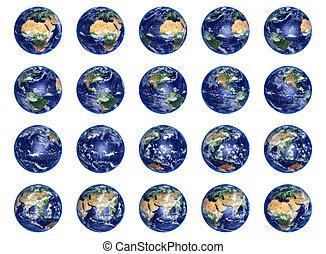 지구, 지구, 수집