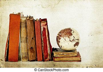 지구 지구, 책, 늙은