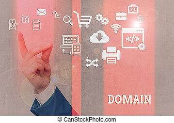 지역, 지배자, 쓰기, 원본, domain., 낱말, 영토, 특별하다, 개념, 또는, 사업, 통제되는, government.
