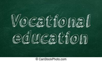 직업, 교육