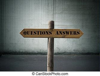 질문, 응답