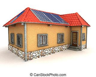집, 에너지, 저금, 개념