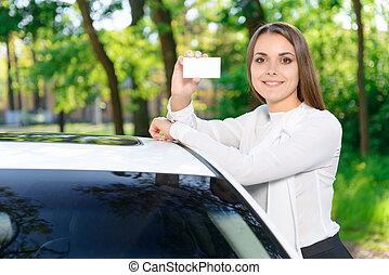차, 전시, 남자가 멋을 낸, 경향, 소녀, 카드