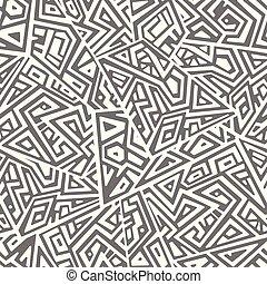 창조, 벡터, seamless, 패턴