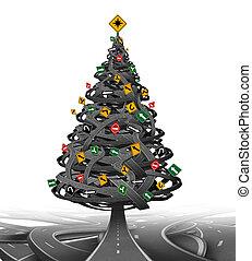 창조, 크리스마스 나무