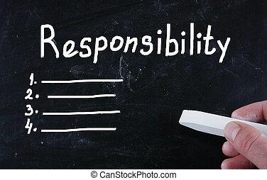 책임, 개념