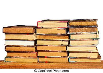 책, 스택, 고립된