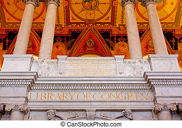 천장, 도서관, 워싱톤 피해 통제, 국회