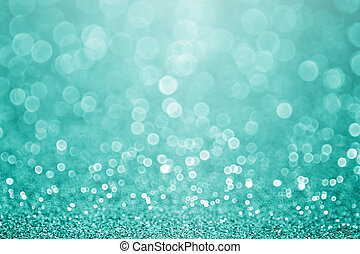청록색의, 물오리, 불꽃, 녹색의 배경, 반짝임