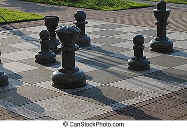 체스, 특대, 산산조각