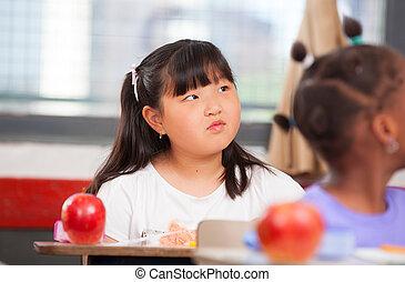 초등 학교, 소수민족의 멀티, 교실