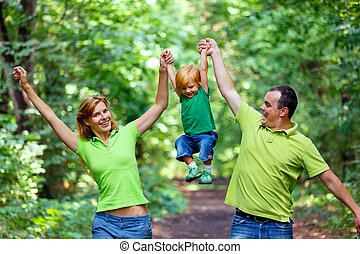 초상, 의, 행복한 가족, park에게서