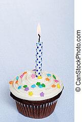 초콜릿 과자, 생일, 컵케이크